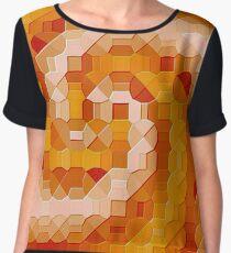 Pixel Chiffon Top