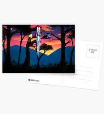 Blast Off Postcards
