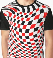 OpArt Abstract Graphic T-Shirt