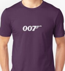 James Bond classic logo 007 T-Shirt