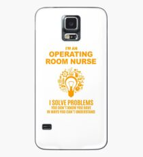 OPERATING ROOM NURSE Case/Skin for Samsung Galaxy