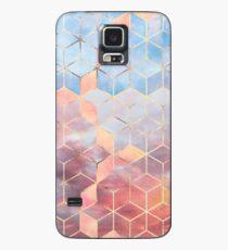 Magische Himmel-Würfel Hülle & Klebefolie für Samsung Galaxy