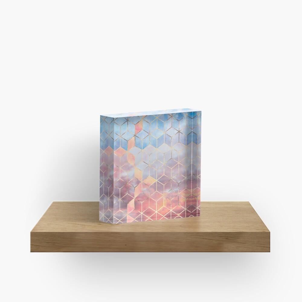 Magic Sky Cubes Acrylic Block