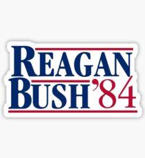 Reagan Bush Sticker