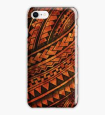 Polynesian Mix iPhone Case/Skin
