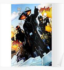 Black Manta Shirt Poster