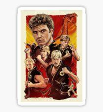 The Karate Kid T-Shirt Sticker