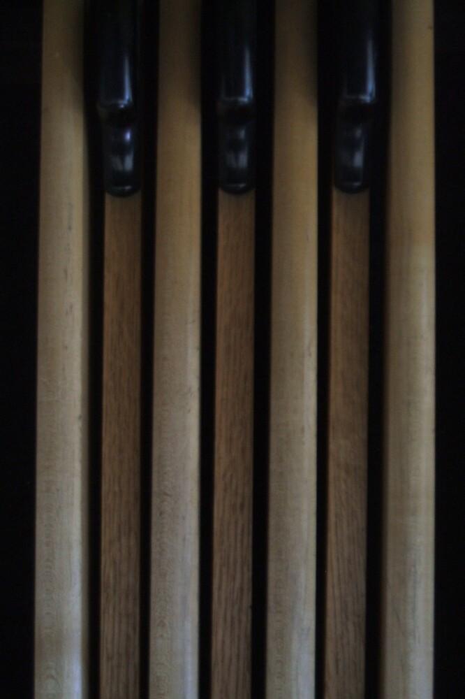 Wooden Keys by kateannmorris