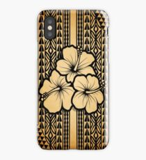 Polynesian Flower iPhone Case/Skin