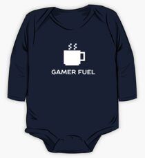 Gamer Fuel Coffee  One Piece - Long Sleeve