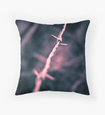Keep out! Throw Pillow