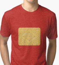 Custard Cream Tri-blend T-Shirt