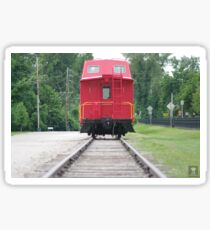 The Red Caboose Sticker