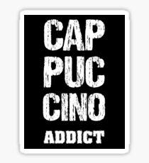 Cappuccino Addict Sticker