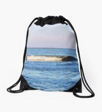 perfect wave Drawstring Bag