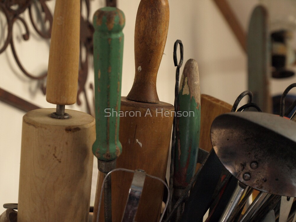TOOLS TO COOK WITH by Sharon A. Henson