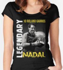 Rafa Nadal Legendary Women's Fitted Scoop T-Shirt