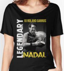 Rafa Nadal Legendary Women's Relaxed Fit T-Shirt