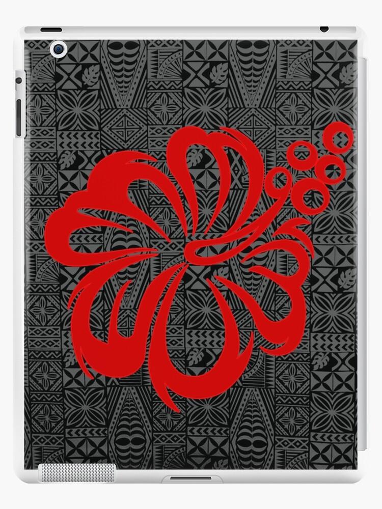 Polynesische Design Blume von atikapu