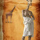 The woman who fell in love with giraffes by Kurt  Tutschek