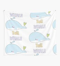 Whale of a Tail Wall Tapestry