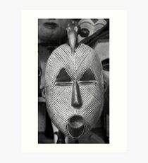Mask of Africa - DRC Art Print