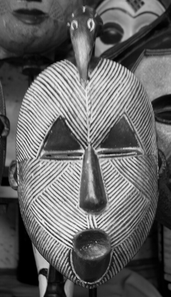 Mask of Africa - DRC by Paul Lindenberg