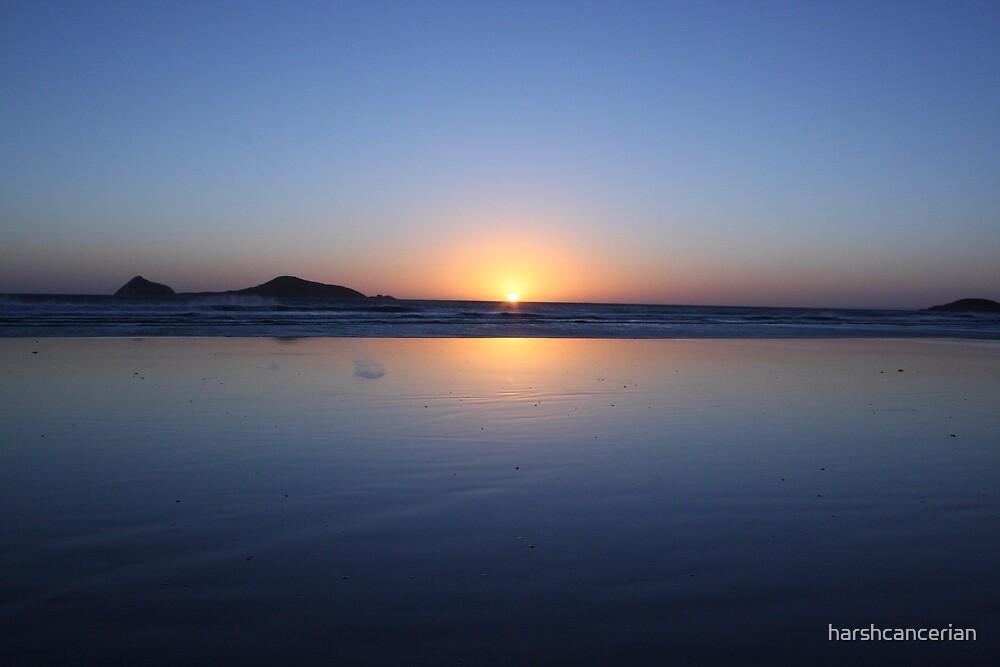 Sun Set by harshcancerian