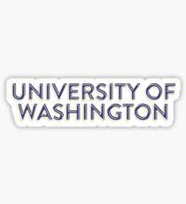 University of Washington - Style 33 Sticker