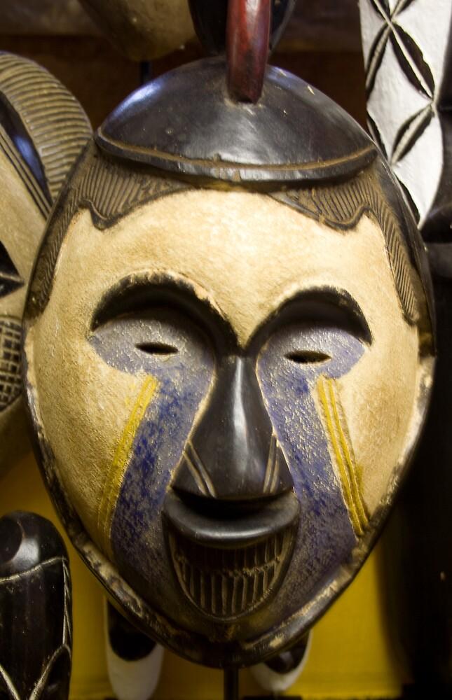 Mask of Africa - Ivory Coast by Paul Lindenberg