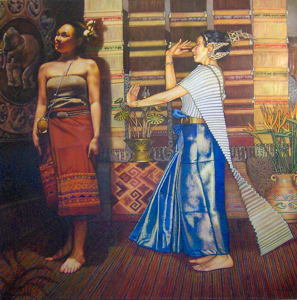 Thai Dancers by Eleanor Day