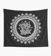 Tela decorativa Bouquet Mandala