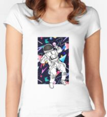 Lost in Time Women's Fitted Scoop T-Shirt