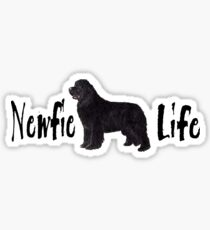 Newfie Life Sticker