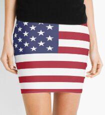 Minifalda Mini falda americana - bandera de los EEUU