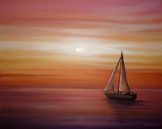 Into the Sun... by Cherie Roe Dirksen