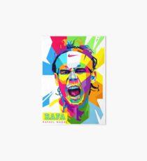 Rafael Nadal Art Art Board