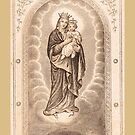 Our Lady of The Sacred Heart of Jesus by fajjenzu