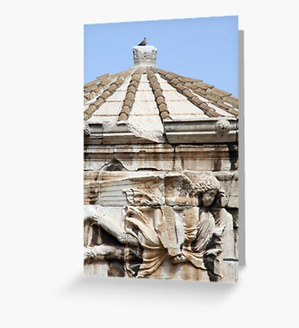 Tower of the Winds Greeting Card