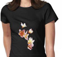 Frangipani #1 Womens Fitted T-Shirt