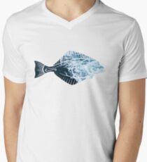 Alaskan Halibut  V-Neck T-Shirt