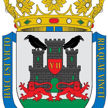 Coat of Arms of Vitoria (Gasteiz), Spain by Tonbbo