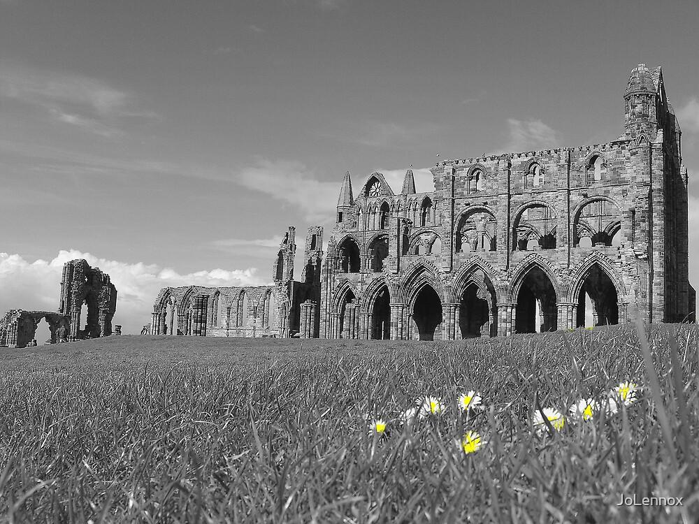 Whitby Abbey by JoLennox