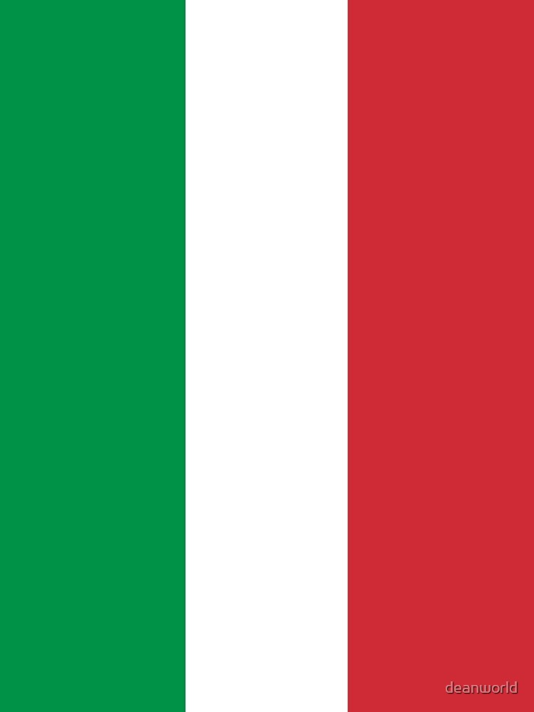 Italian Flag Mini Skirt Dress by deanworld