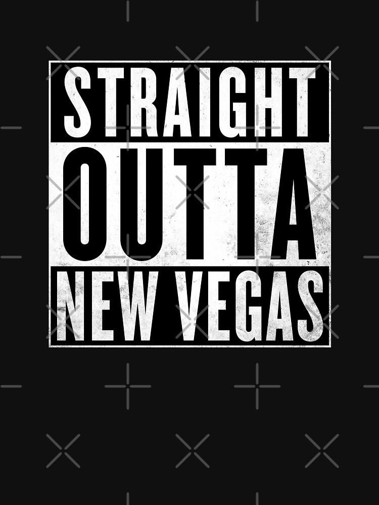 """Logotipo de Fallout """"Straight Outta New Vegas"""" de Doge21"""