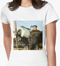 Steve Trevor Womens Fitted T-Shirt