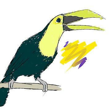 Toucan  by Maxiomatic