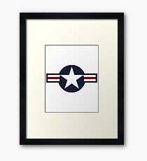 American Forces Framed Print
