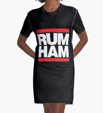 Rum Ham Merchandise Graphic T-Shirt Dress