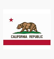 San Francisco Flag of California Photographic Print